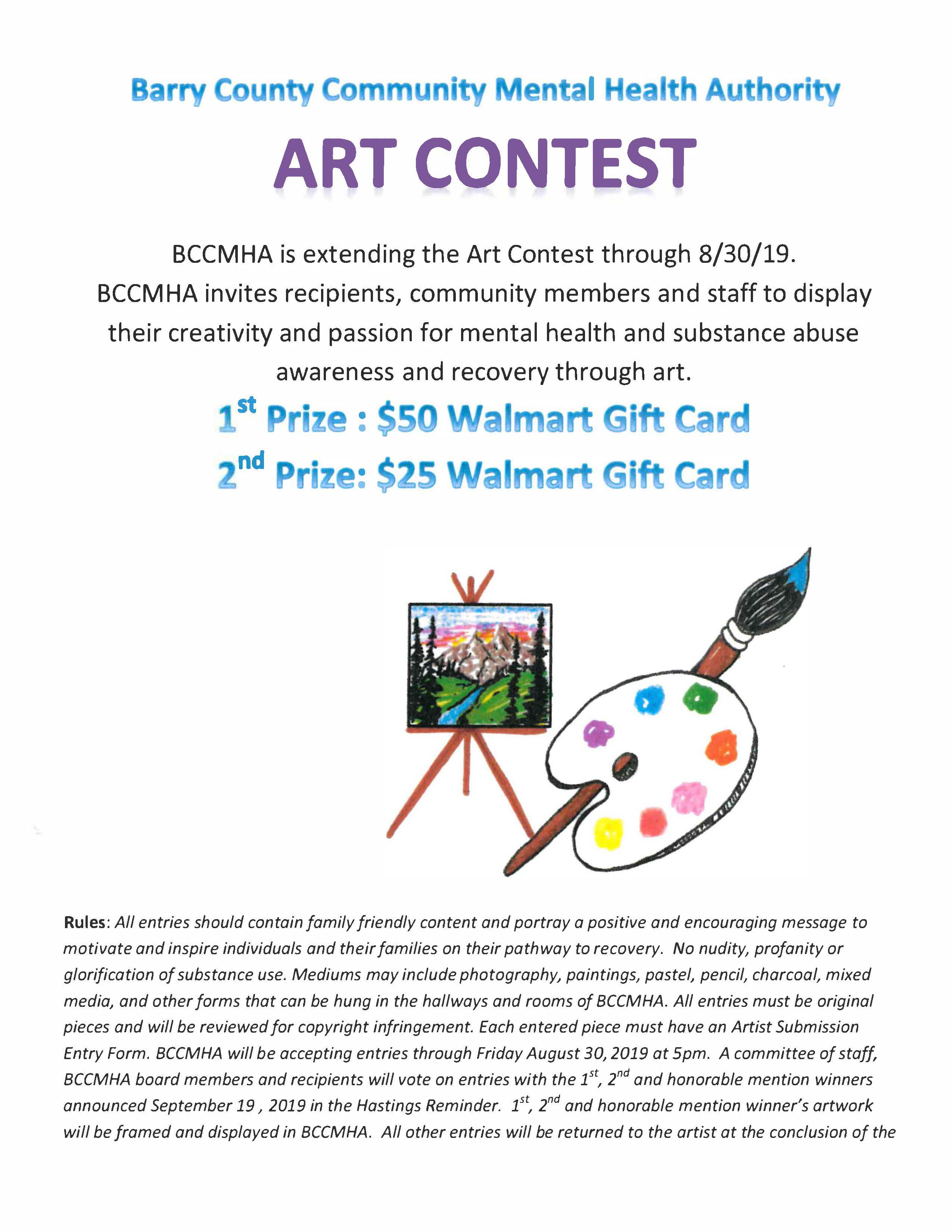 BCCMHA Artist Competition